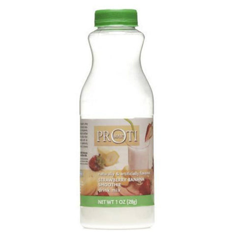 To Go Shaker - Proti Max High Protein Drink - Strawberry Banana Smoothie - 6 Bottles - ProteinWise