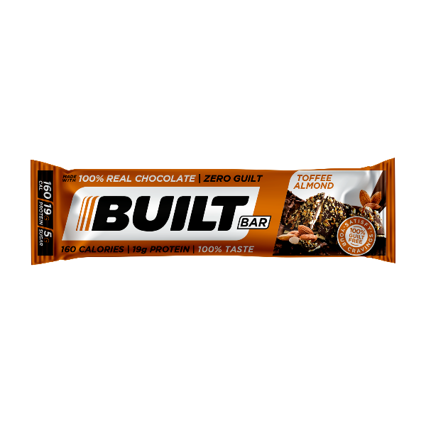 Built Bar - Toffee Almond -  1 Bar
