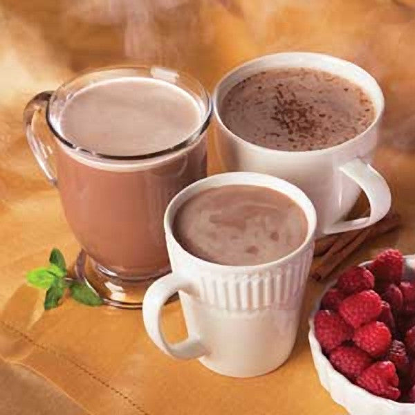 Hot Drinks - ProteinWise - Variety Protein Hot Chocolate - 7/Box - ProteinWise