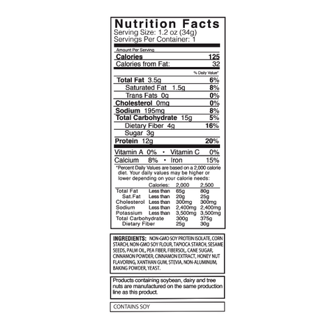 Kay's Naturals Protein Pretzel Sticks - Cinnamon Toast - 1.2-oz Single Bag