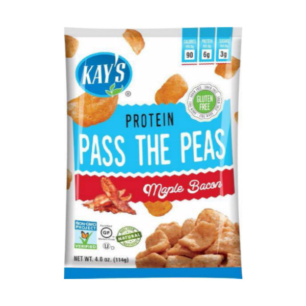 Snacks - Kay's Naturals - Pass The Peas - Maple Bacon 4 oz. - ProteinWise