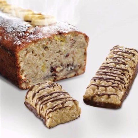 Protein Bars - ProtiDiet - Banana Bread Breakfast Protein Bar - 7 Bars - ProteinWise