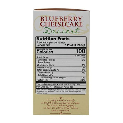 ProteinWise - Blueberry Cheesecake Dessert - 7/Box