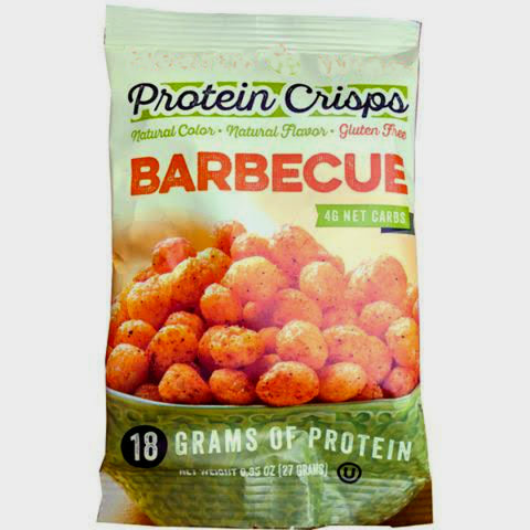 Snacks - ProteinWise - Barbecue Protein Crisps - 1 Bag - ProteinWise