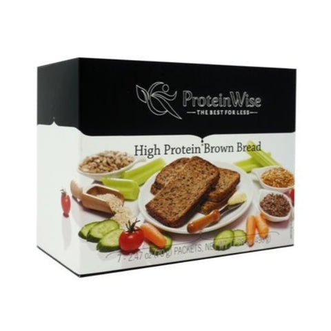 ProteinWise - High Protein Brown Bread - 7/Box