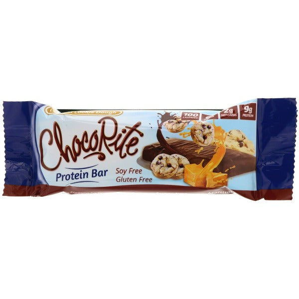 HealthSmart ChocoRite 34g Caramel Cookie Dough Bar - 1 Bar