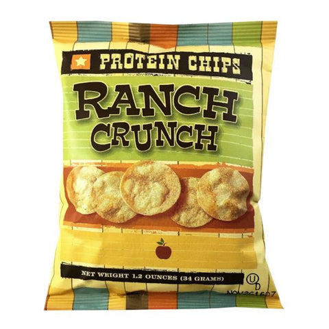 Snacks - ProteinWise - Ranch Crunch Protein Chips - 1 Bag - ProteinWise