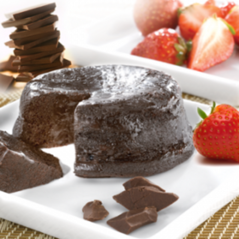 Snacks - ProtiDiet Chocolate Flavor Fudge Cake - 7/Box - ProteinWise