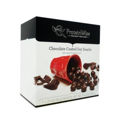 ProteinWise - Chocolate Coated Soy Snacks - 7/Box