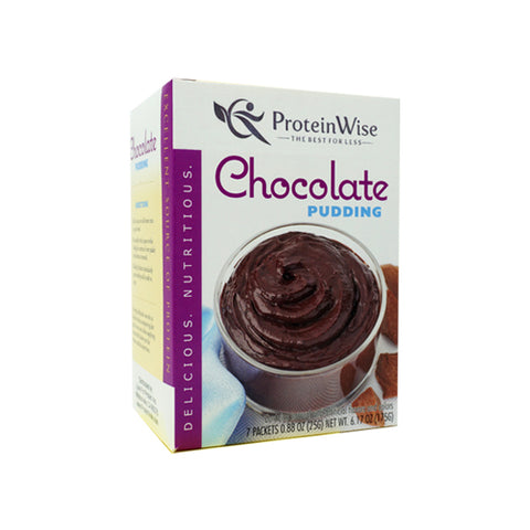 ProteinWise - Double Chocolate Protein Pudding - 7/Box