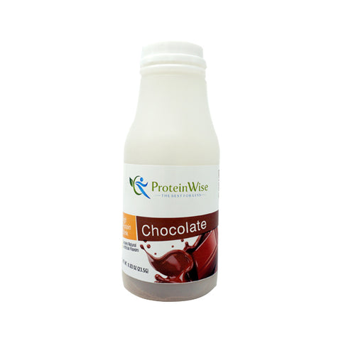 ProteinWise - Instant Protein Drink - Chocolate - Single Bottle