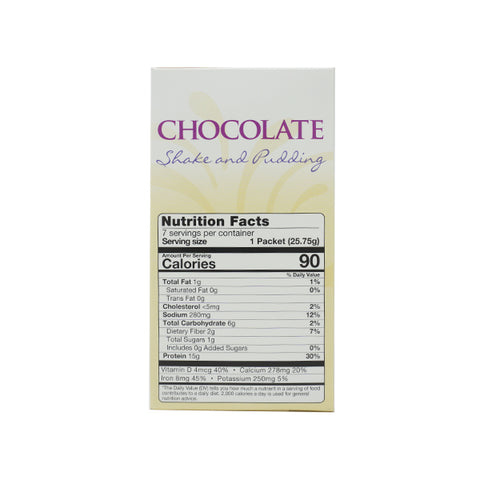 ProteinWise - Chocolate High Protein Shake and Pudding - 7/Box