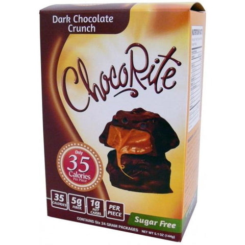 HealthSmart ChocoRite Dark Chocolate Crunch - 6 Pack