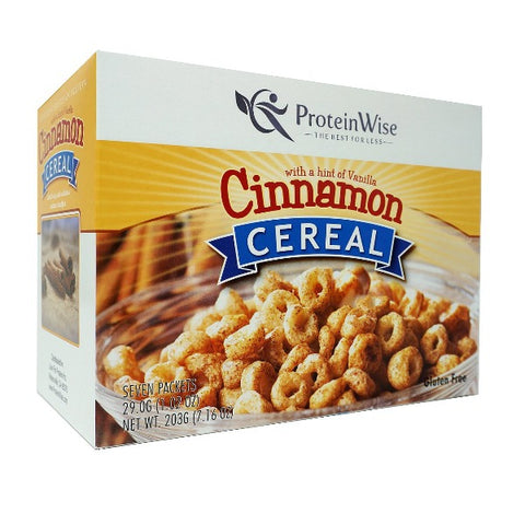 ProteinWise - Cinnamon Protein Cereal - 7/Box