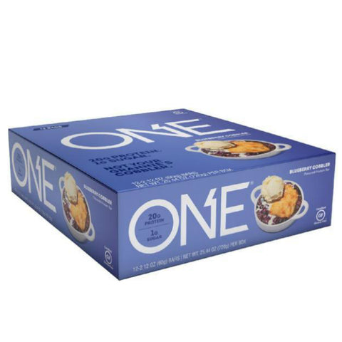 Protein Bars - ONE Protein Bar - Blueberry Cobbler - 12 Bars - ProteinWise