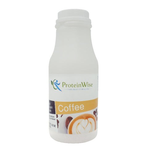 ProteinWise - Instant Protein Drink - Proticcino Coffee - Single Bottle
