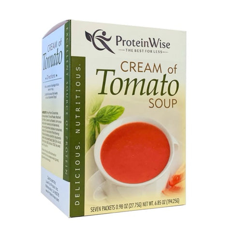 ProteinWise - Cream of Tomato Protein Soup - 7/Box