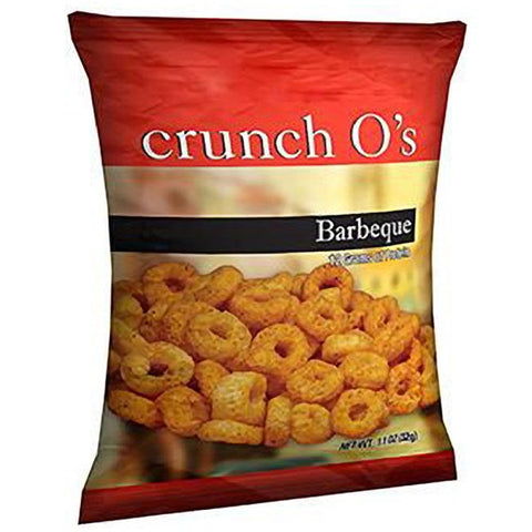 Snacks - ProteinWise - BBQ Crunch O's Protein Chips - 1 Bag - ProteinWise