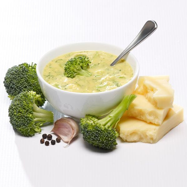 Soups - ProteinWise - Farmhouse Cheddar & Broccoli Soup Flavor Pack - 7/Box - ProteinWise