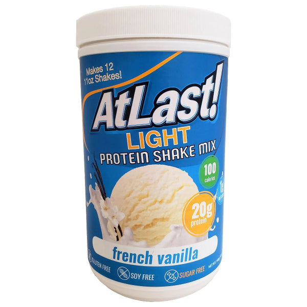 Protein Powders - HealthSmart At Last! Light Protein Shake Mix - Vanilla - ProteinWise