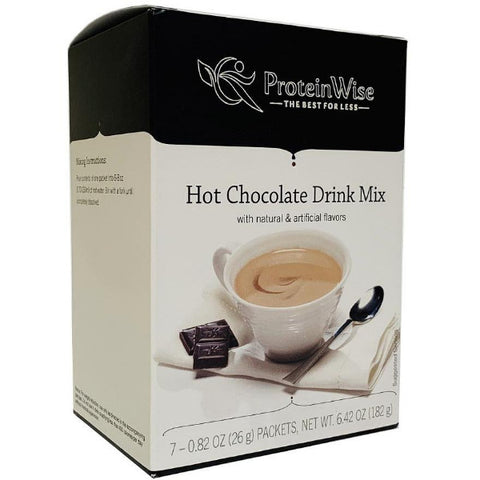 ProteinWise - Proti-15 Hot Chocolate Drink Mix - 7/Box