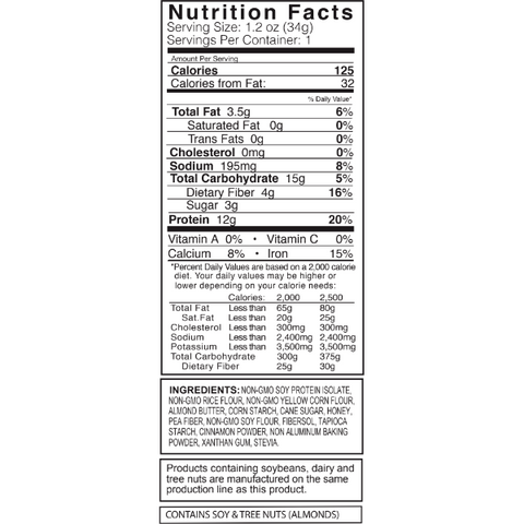 Kay's Naturals Protein Cookie Bites - Cinnamon Almond - 1.2-oz Single Bag