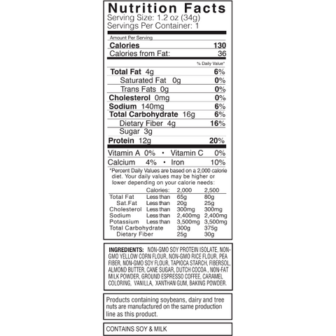 Kay's Naturals Protein Cookie Bites - Mocha Espresso - 1.2-oz Single Bag