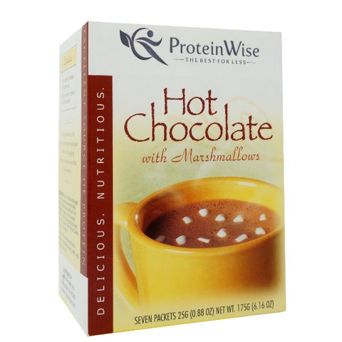 ProteinWise - Marshmallow Protein Hot Chocolate - 7/Box