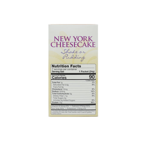 ProteinWise - New York Cheesecake Shake or Pudding - 7/Box