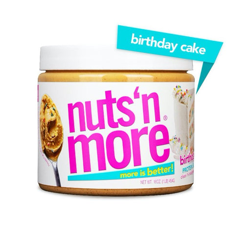 Nuts 'N More High Protein Peanut Spread Birthday Cake - 16oz.