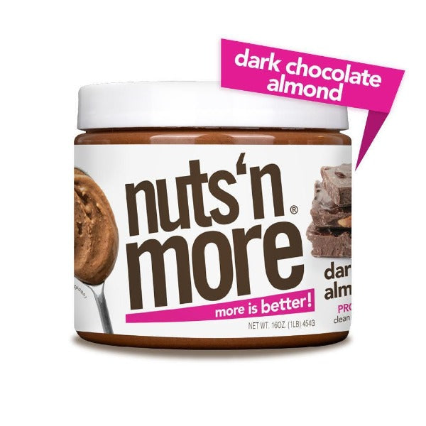 Nuts 'N More High Protein Almond Spread Chocolate Almond Butter - 16 oz.