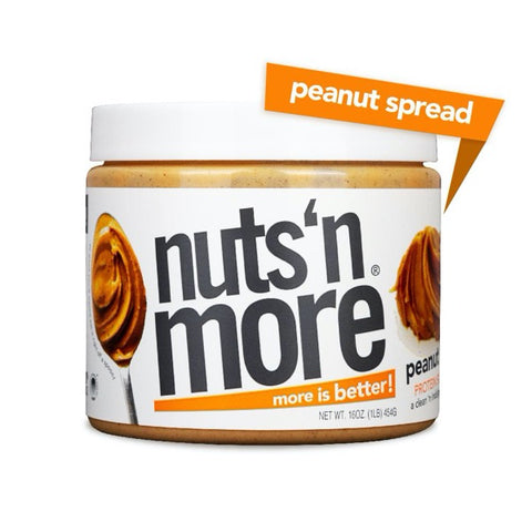 Nuts 'N More High Protein Peanut Spread Peanut Butter - 16 oz.