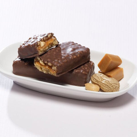 Protein Bars - ProteinWise - Nutty Caramel Crunch Protein Bars - 7 Bars - ProteinWise