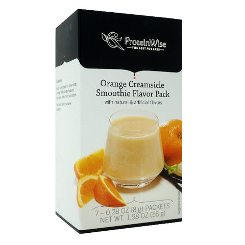 ProteinWise - Orange Creamsicle Smoothie Flavor Pack - 7/Box