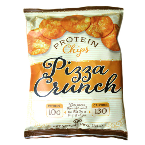 Snacks - ProteinWise - Pizza Crunch Protein Chips - 1 Bag - ProteinWise