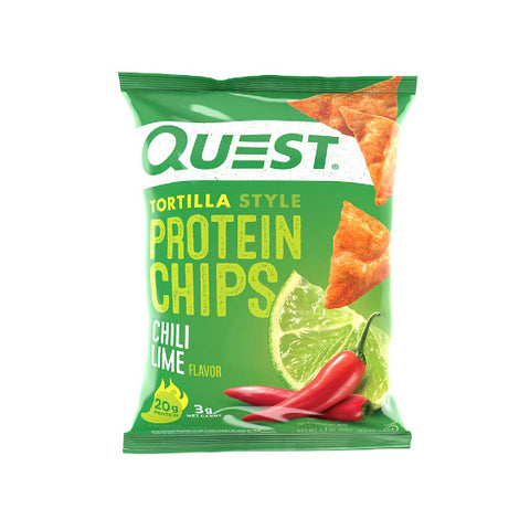 Quest Protein Tortilla Chips - Chili Lime - Single Bag
