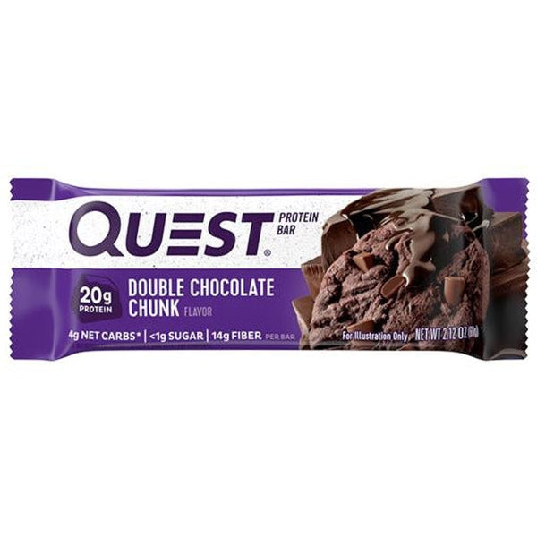 Quest High Protein Bars - Double Chocolate Chunk - 1 Bar