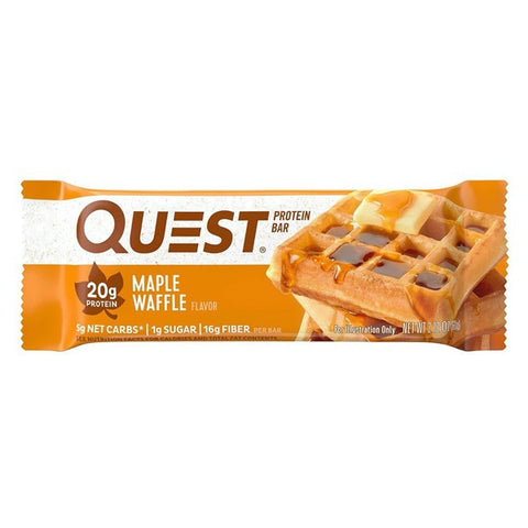 Quest High Protein Bars - Maple Waffle  - 1 Bar