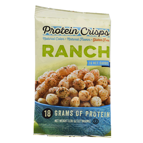 Snacks - ProteinWise - Ranch Protein Crisps - 1 Bag - ProteinWise