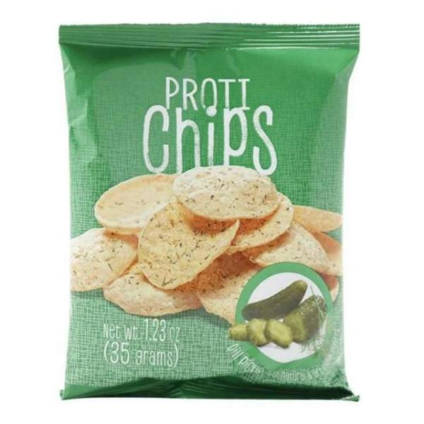 Proti - Dill Pickle Protein Chips - 1 Bag
