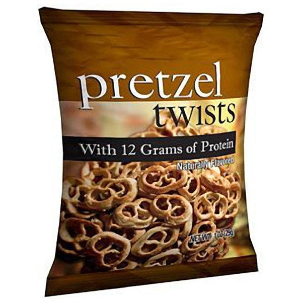 Snacks - ProteinWise -Protein Pretzel Twists Snacks - 1 Bag - ProteinWise