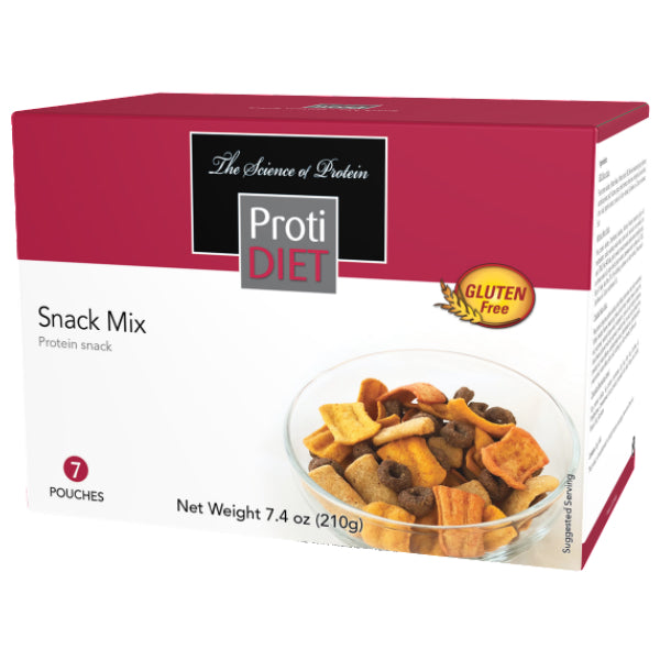 Snacks - ProtiDiet - High Protein Snack Mix  - 7/Box - ProteinWise