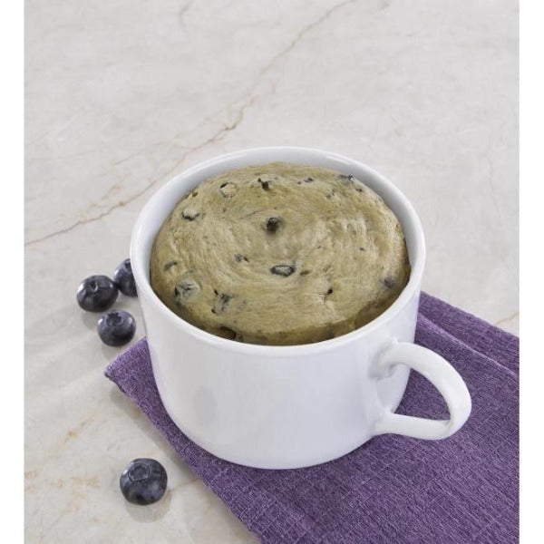 Snacks - ProteinWise - High Protein Blueberry Mug Cakes - 7/Box - ProteinWise