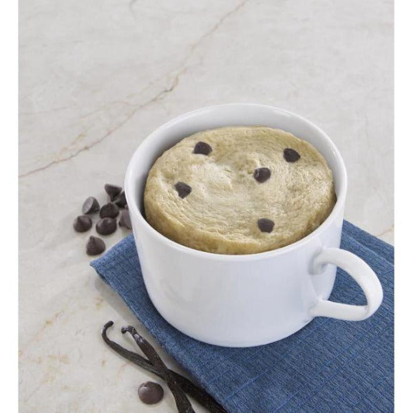 Snacks - ProteinWise - High Protein Vanilla Chocolate Chip Mug Cakes - 7/Box - ProteinWise