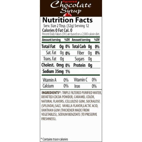 Walden Farms Chocolate Syrup - 12oz