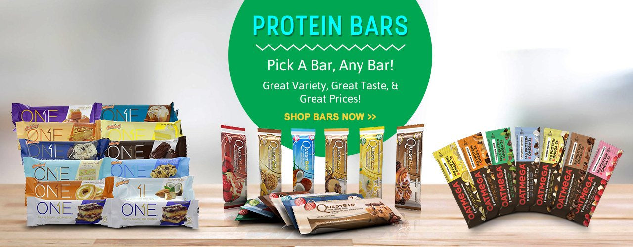 Protein Rich Bars - Shop now!