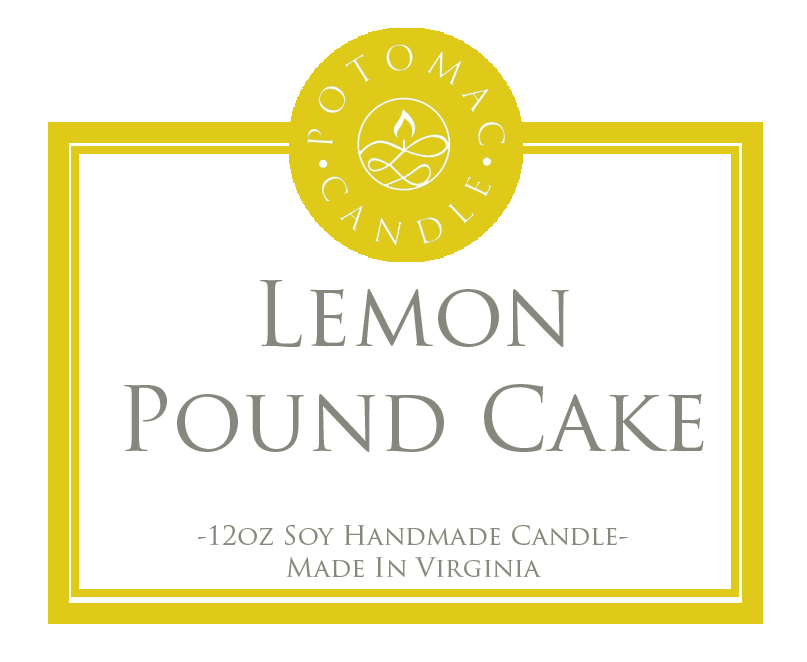 Lemon Pound Cake - Potomac Candle