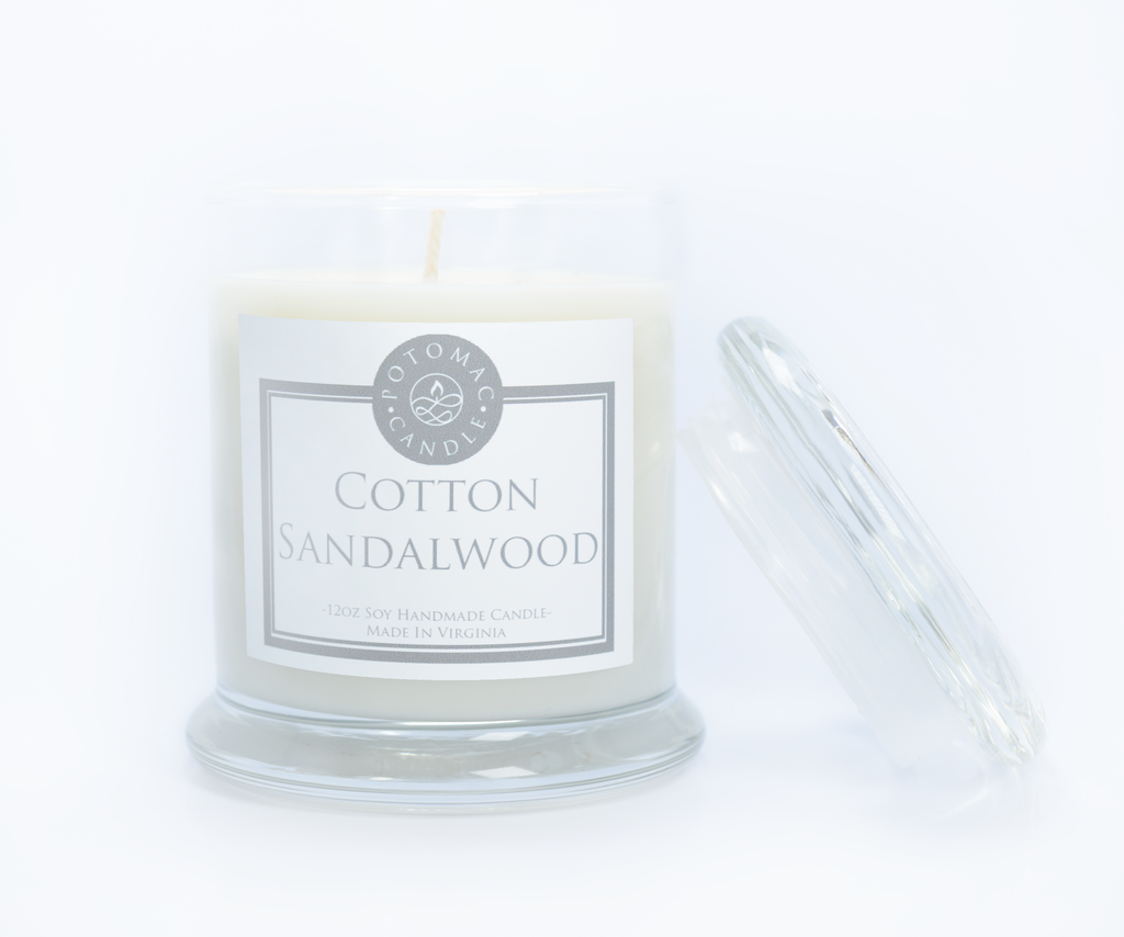 Cotton Sandalwood - Potomac Candle
