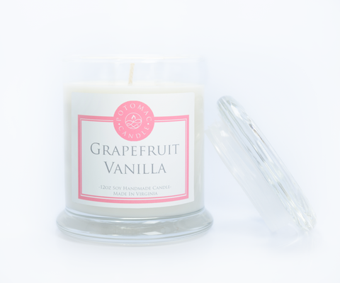 Grapefruit Vanilla 12oz - Potomac Candle