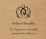 Relax & Breathe - Potomac Candle